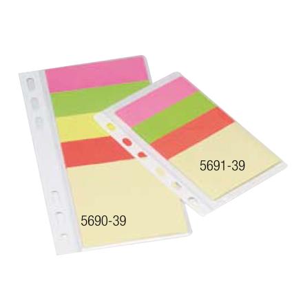 Häftisblock Diary Notes 1x75x75+4x25x75mm  75st blad
